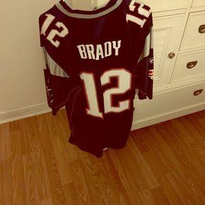 Jackets & Blazers - Patriots Jersey, Tom Brady 12